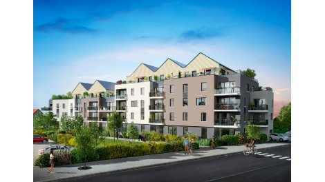 Appartement neuf Domaine de Nacre éco-habitat à Epron