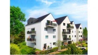 Appartements neufs Edith Wilson investissement loi Pinel à Montivilliers