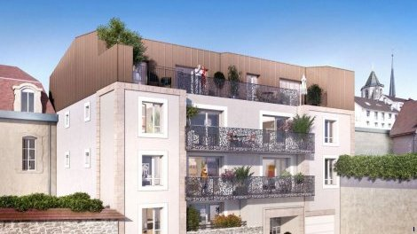 Appartement neuf Patio Saint Benigne investissement loi Pinel à Dijon