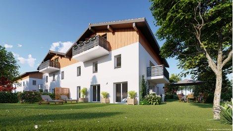 Appartements neufs Résidence Aux Fleurettes éco-habitat à Bayonne