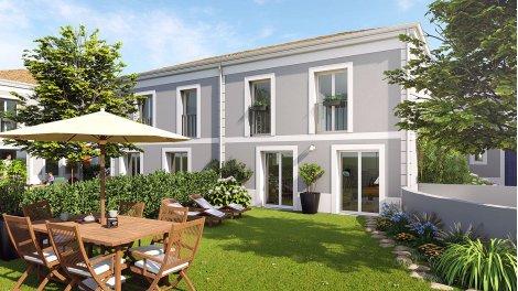 Maisons neuves Le Clos d'Andorte éco-habitat à Le Bouscat
