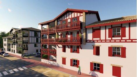 Appartements neufs Résidence Baigura éco-habitat à Saint-Pee-sur-Nivelle