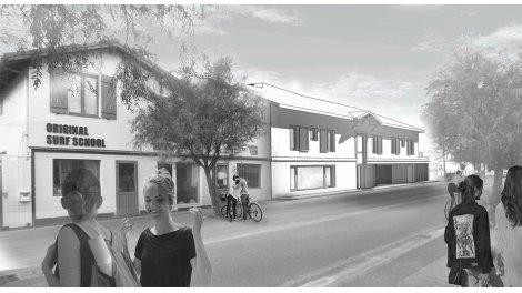 Appartement neuf Résidence la Plaja éco-habitat à Vieux-Boucau-les-Bains