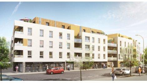 Appartement neuf Le Cours d'Allonville investissement loi Pinel à Nantes