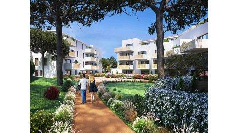 Appartement neuf L'Ecrin Bleu éco-habitat à Balaruc-les-Bains