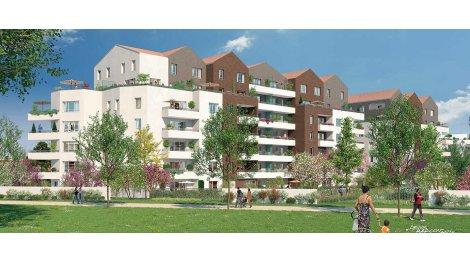 Appartement neuf Les Apparts Cote Jardin investissement loi Pinel à Neuilly-sur-Marne
