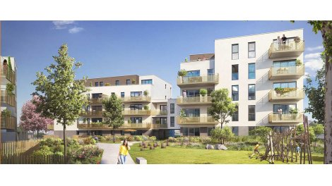 Appartement neuf Oxygen investissement loi Pinel à Saint-Priest