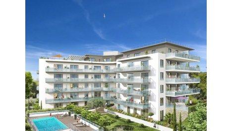 Appartement neuf Le Domaine d'Acanthe investissement loi Pinel à Nice