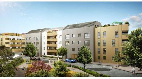 le cours d 39 allonville nantes programme immobilier neuf. Black Bedroom Furniture Sets. Home Design Ideas
