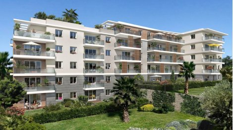 Appartement neuf Les Hauts de Sainte Marguerite éco-habitat à Nice