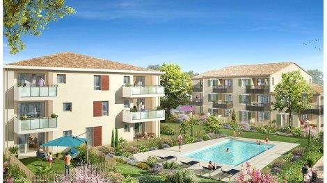 eco habitat neuf à Le Puy-Sainte-Réparade