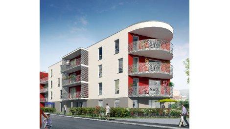 Appartement neuf Angle Carrare éco-habitat à Besançon