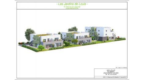 Appartement neuf Les Jardins de Louis à Besançon