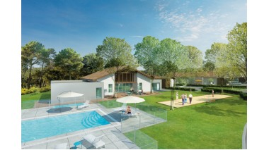 Maisons neuves Senioriales Soustons éco-habitat à Soustons