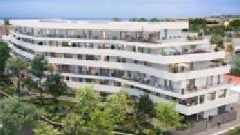Appartement neuf White And Sea investissement loi Pinel à Marseille 8ème