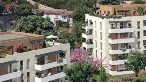 Appartement neuf Les Collines de Loubet investissement loi Pinel à Marseille 11ème