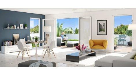 Appartement neuf Le Palmira investissement loi Pinel à Marseille 12ème
