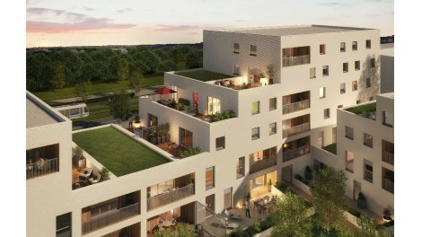 Appartement neuf Le Clos des Etoiles éco-habitat à Beauzelle