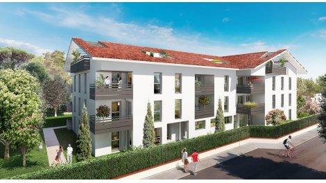 Appartement neuf Le Parc de Lardenne éco-habitat à Toulouse
