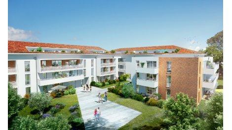 Appartement neuf Les Jardins de Joséphine éco-habitat à Toulouse