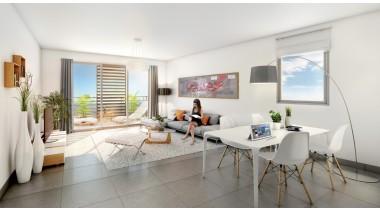 Appartement neuf Osmoz à Marseille 10ème