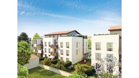 Appartement neuf Villa de Flore investissement loi Pinel à Miribel
