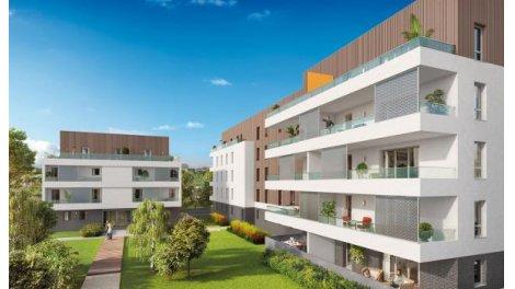 Appartement neuf Terre d'Opale investissement loi Pinel à Bassens