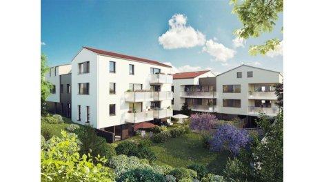 Appartement neuf Riverside investissement loi Pinel à Oullins