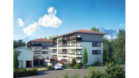 Appartement neuf Le Preau investissement loi Pinel à Froges