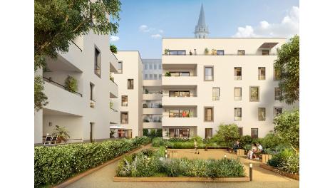 Appartement neuf Les Jardins du 6eme investissement loi Pinel à Lyon 6ème