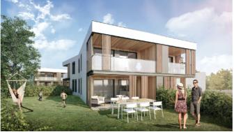 Appartements neufs L'Écho investissement loi Pinel à Caluire-et-Cuire