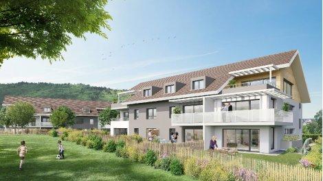 Appartements neufs Les Cottages d'Arbere à Divonne-les-Bains