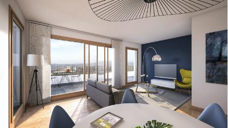 Appartement neuf Le Prisme éco-habitat à Lyon 4ème