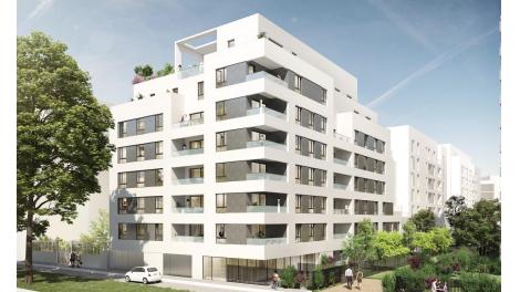 Appartement neuf Uni'Vert 7 investissement loi Pinel à Lyon 7ème