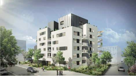 Appartement neuf L'Open à Villeurbanne