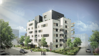 Appartements neufs L'Open à Villeurbanne