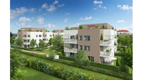 Appartement neuf Villa Toscane investissement loi Pinel à Craponne