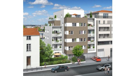 Appartement neuf Jardin de Bertille investissement loi Pinel à Lyon 3ème