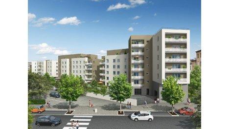 Appartement neuf Coeur de Vaise éco-habitat à Lyon 9ème