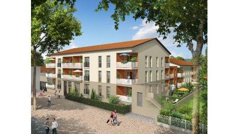Appartement neuf Horizon Saône éco-habitat à Neuville-sur-Saône