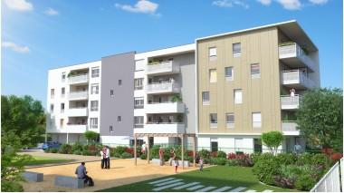 Appartement neuf Un Jardin en Ville investissement loi Pinel à Vaulx-en-Velin
