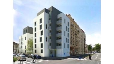 Appartement neuf Patio République investissement loi Pinel à Villeurbanne