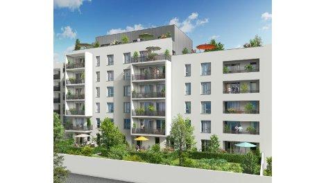 Appartements neufs Côté Parcs investissement loi Pinel à Villeurbanne