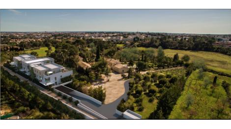 Appartement neuf Montpellier- Coeur d'un Domaine Viticole éco-habitat à Montpellier