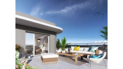 Appartement neuf Montpellier-Nouvelle Clinique St Roch éco-habitat à Montpellier
