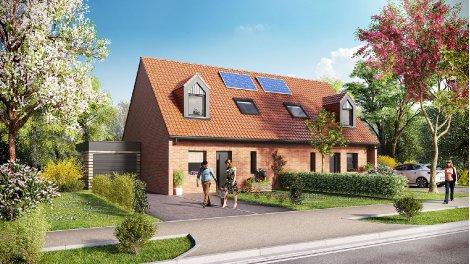 Maisons neuves Moka éco-habitat à Bourbourg