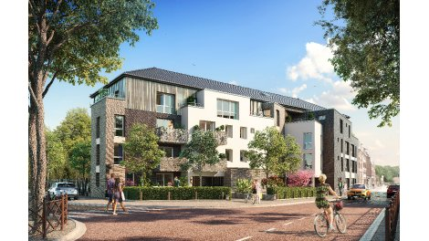 Residence du cheval blanc quesnoy sur deule eco for Programme immobilier neuf region parisienne