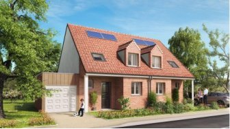 Maisons neuves Domaine Saint Martin à Sailly-Labourse