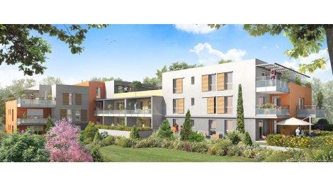 Appartement neuf Villa Sérézine investissement loi Pinel à Ternay