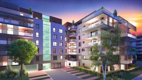 Appartement neuf Les Aquarelles Bâtiment a à Annecy